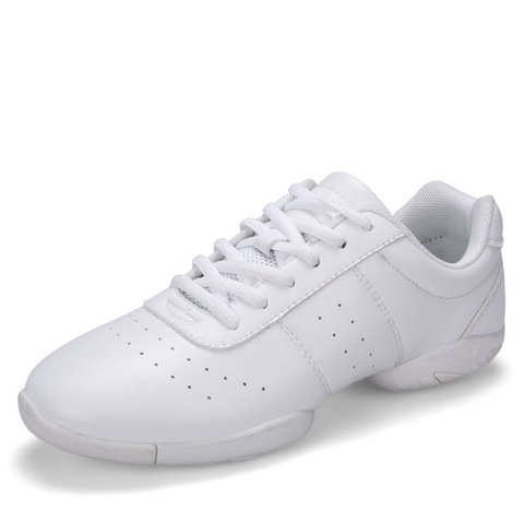 Aerobics Shoes Children Adult Fitness Gymnastics Sports Dance Shoes Jazz Sneakers Cheerleading Shoes Woman Square Dance Shoes Multan