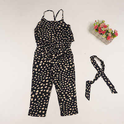 db2493e6c5 Girl Romper Fashion Summer Kids Baby Girls Clothes Sleeveless Dress  Jumpsuit Trousers Outfits