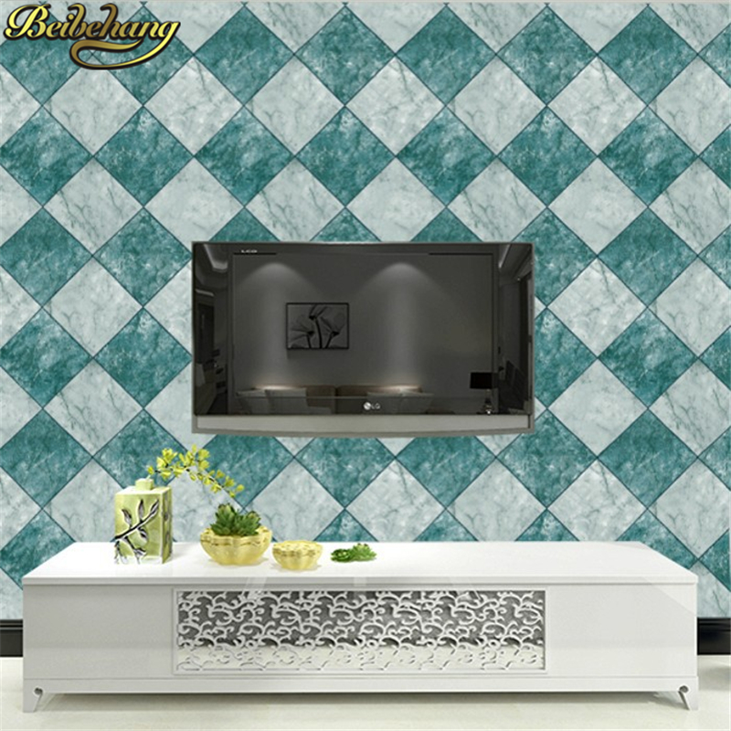 beibehang papel de parede 3d wallpaper for walls Home Decoration brief living room Simple modern diamond wall paper papier peint beibehang wall murals wallpaper for walls 3 d papel parede 3d wall paper roll for living room waterproof papier peint stickers