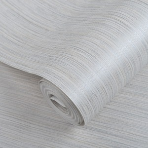 Image 2 - Однотонные соломенные обои с тесьмой, рельефная настенная Бумага Из искусственной соломы для отеля, столовой, цвета: бежевый, серый, рулон 10 м