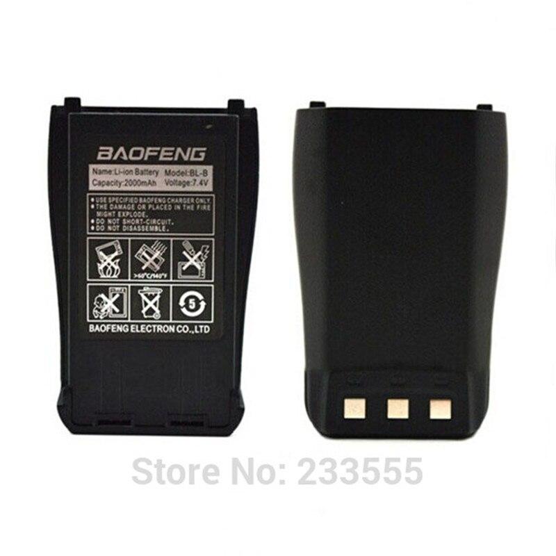 Nouveau baofeng bl-b 7.4 v 2000 mah li-ion batterie pour baofeng uv-b5/uv-b6 talkie walkie