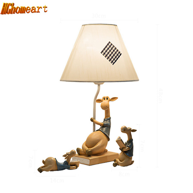 HGHomeart Dimmable Creative Ornaments LED Table Lamp Boys and ...
