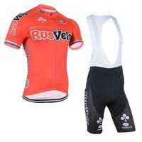 Breathable pro national team rusvelo cycling jerseys summer Short sleeve quick dry cloth MTB Ropa Ciclismo Bicycle maillot GEL