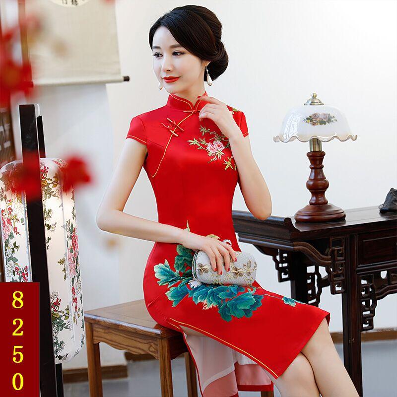 Rayon Size New Xxxl Vestidos Short Summer Women's 8254 8253 8252 8230 M Cheongsam 8255 8236 L Arrival Fashion Knee Dress Qipao 8241 Xl 8250 Style 8229 8256 Xxl 8228 8270 8259 Chinese 72912 Leng 8238 8257 8258 6rH0Pq6O