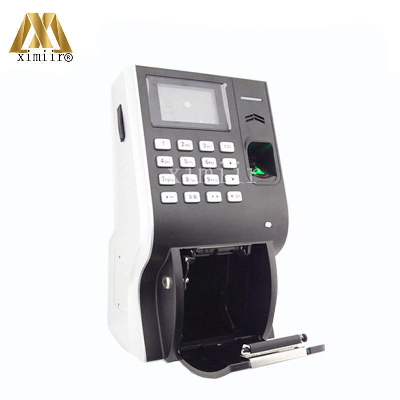 Biometric Fingerprint Time Attendance With Thermal Printer TCP/IP And USB Communication LP400 Time Clock Biometric Fingerprint Time Attendance With Thermal Printer TCP/IP And USB Communication LP400 Time Clock
