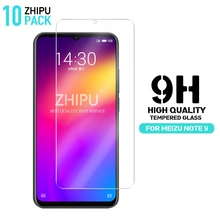 10 Pcs Tempered Glass For Meizu Note 9 Glass Screen Protector 2.5D 9H Premium Tempered Glass For Meizu Note 9 Protective Film стоимость