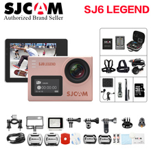 Original SJCAM SJ6 LEGEND 4K 24fps WiFi Ultra HD Notavek 96660 Waterproof Action Camera 2″ Touch Screen Remote Sports hero 4 cam