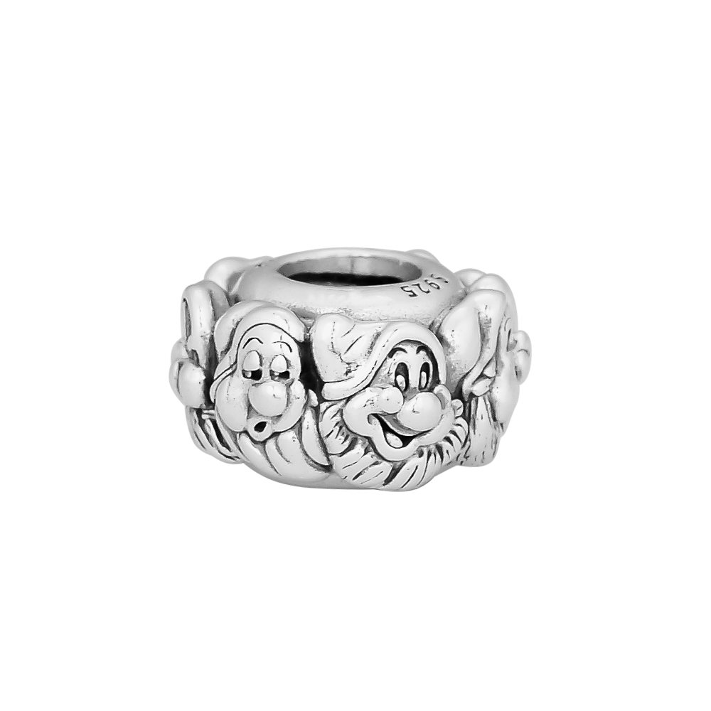 CKK 925 Sterling Silver The Seven Dwarfs All Around Spacer Charm Beads Original Jewelry Making Fits For BraceletsCKK 925 Sterling Silver The Seven Dwarfs All Around Spacer Charm Beads Original Jewelry Making Fits For Bracelets