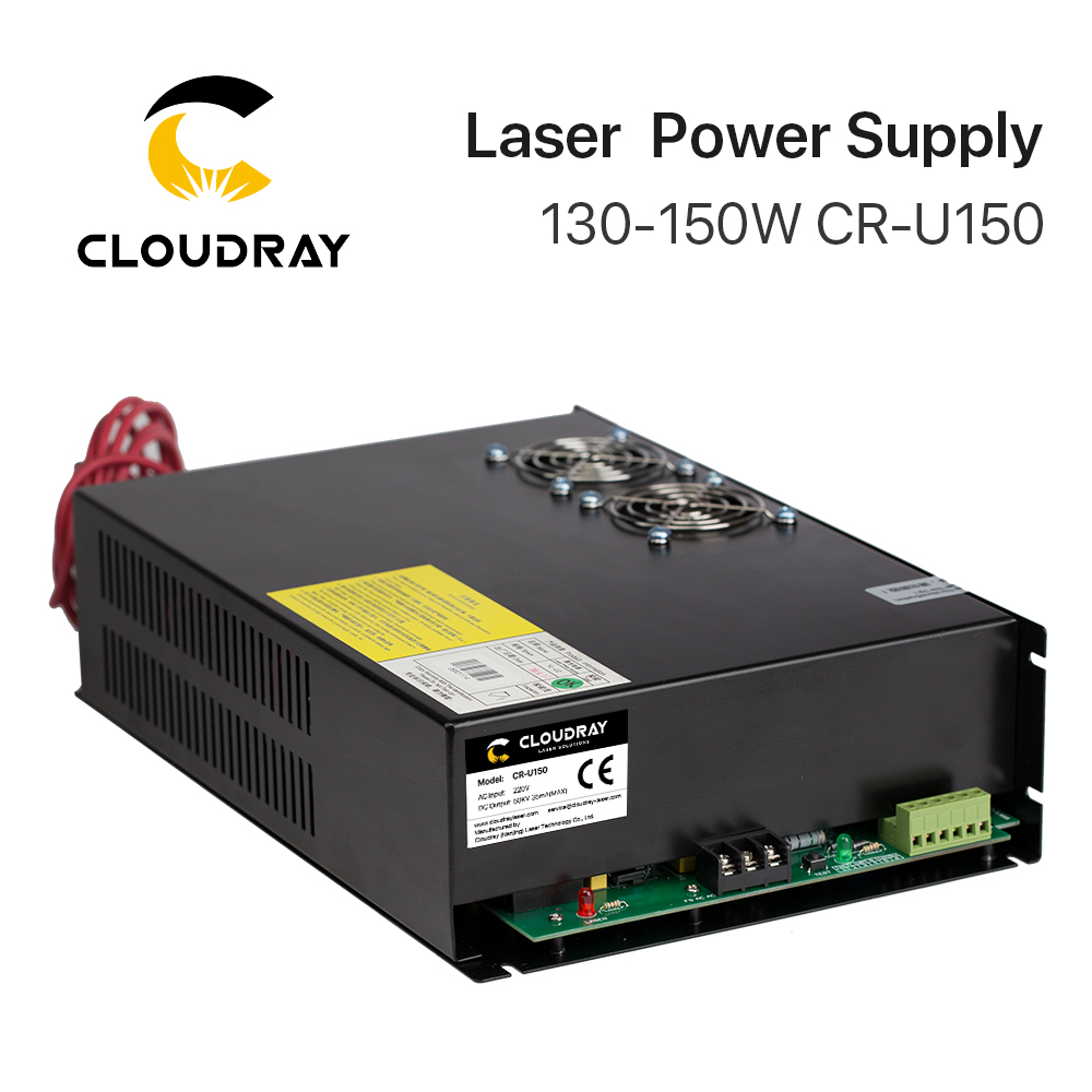 Cloudray 130-150W CO2 Laser Power Supply For CO2 Laser Engraving Cutting Machine CR-U150 U Series