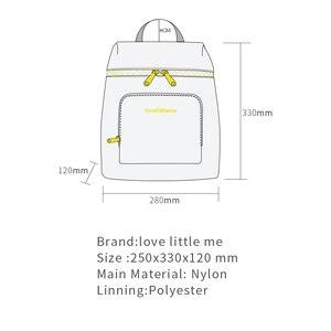 Image 5 - Brand Fashion Luiertas Verpleging Zak Mummie Moederschap Luier Grote Capaciteit Baby Tas Rugzak Designer Voor Baby Care