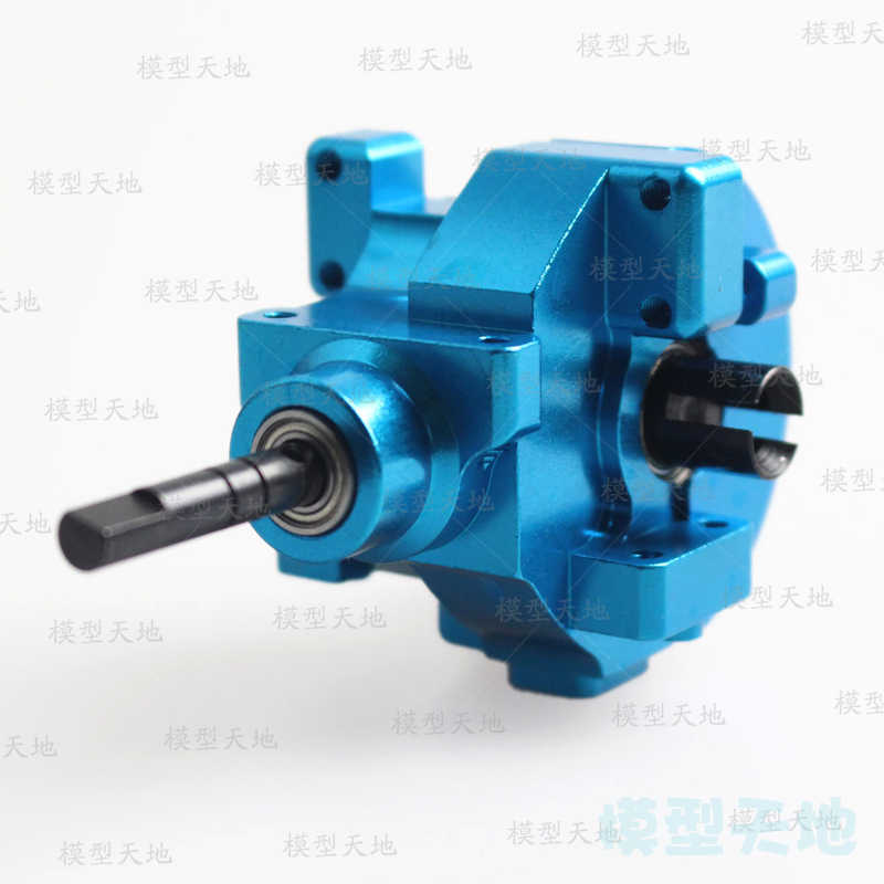 03015 02051 102075 Aluminium Front & Rear Gear Box Compleet Drive fit RC auto 1/10 HSP 94123 94106 94107 94170 94108 94111