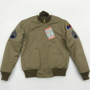Image 3 - Bob Dong Fury Tanker Patch Jacket Mens Vintage US Army Military Winter Wool Coat