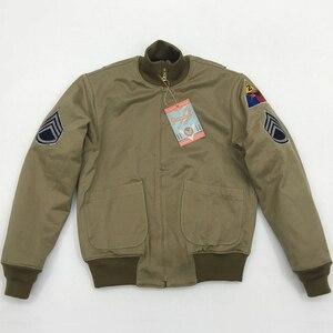 Image 3 - Veste en laine Vintage pour homme, style militaire américain, veste en laine, style hiver Bob Dong Fury