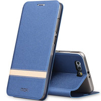 6 Colors Top Quality Flip Leather Soft TPU Back Phone Cover Case For Huawei Honor 9