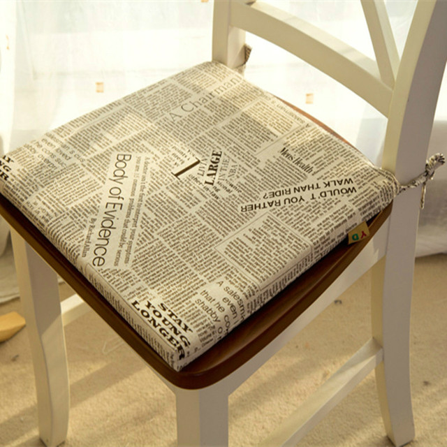European Style Retro Mianma Cloth Cushion Sponge Cushion Seat Cushion Chair  Decoration Cushions Home Decor