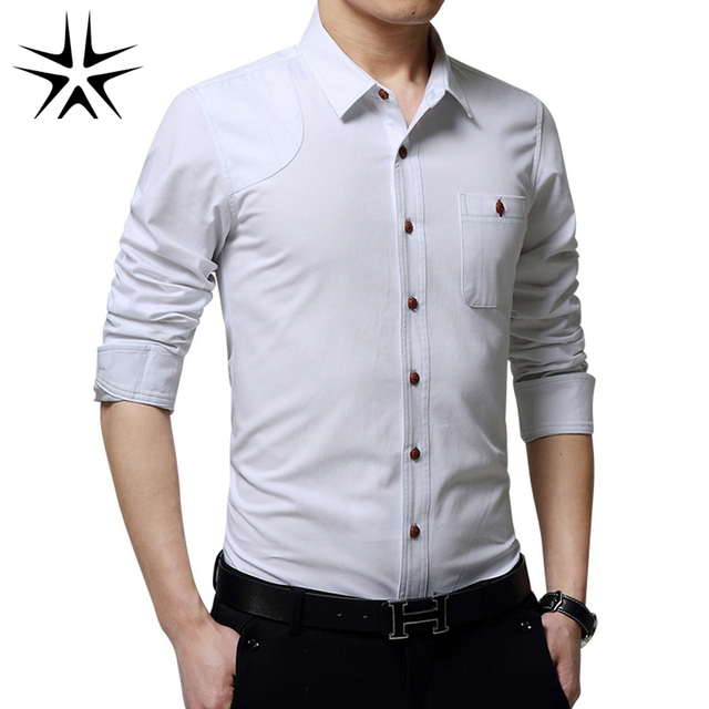 Aliexpress.com : Buy Men Long Sleeve Shirts 2016 Man Formal Shirts ...