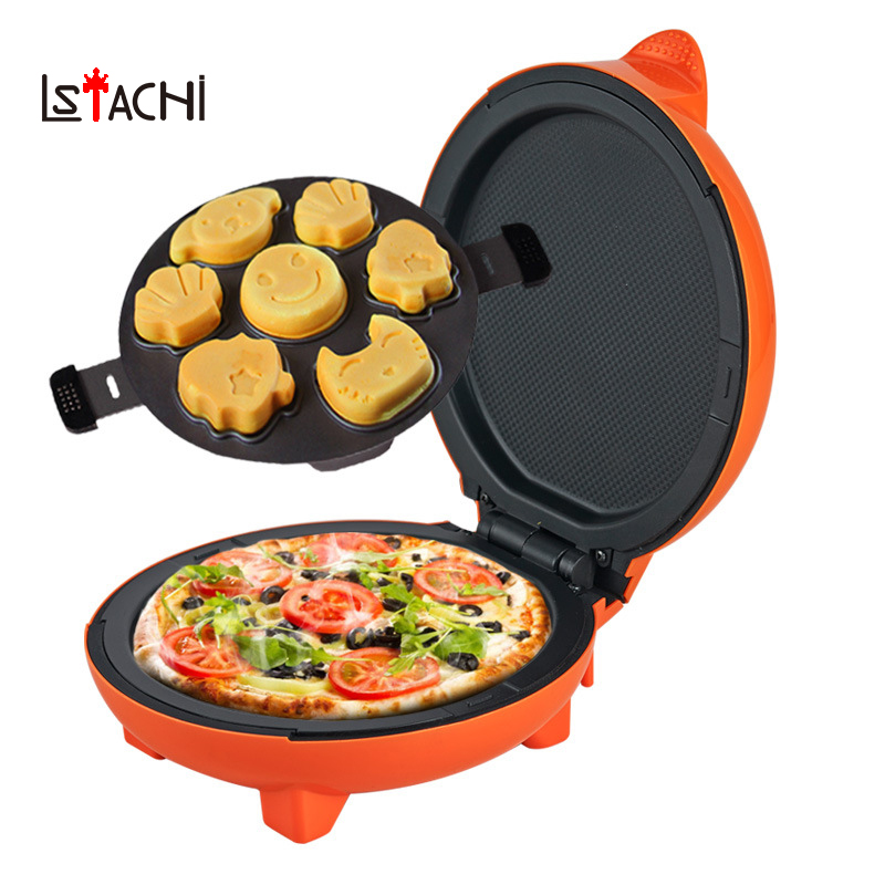 LSTACHi Multi Functional Bread Maker Mini Household Cartoon Cake Machine Cooking 220V Electric Pancake Maker Electric Grill