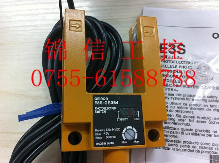 E3S-GS3B4 OMRON photoelectric sensor [zob] 100% brand new original authentic omron omron photoelectric switch e2s q23 1m 2pcs lot