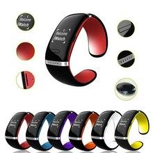 1 шт. Экран Модернизированный женщины мужчины Smart Watch браслет многофункциональный Сенсорный ретро Новые Bluetooth Браслет мода Корейских стиль H4