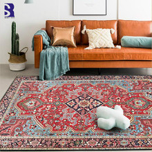 SunnyRain 1-piece Rugs and Carpets for Home Living Room Large Carpet Area Rug for Bedroom Slipping Resistance simple modern thicken lamb velvet rug bedside bedroom soft carpets for living room decor carpet can custom home large area rugs