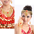 Belly Dance Costumes Top Fashion Cotton Belly Dance Necklace Jewelry Accessories Chain 2 Indian Hair Accessory Collapsibility