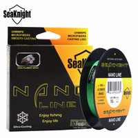Seaknight NANO 300 m 4 strands stranded fishing lines PE multifilament fishing line 4lb 6lb 8lb 10lb diameter 0.07-0.12mm
