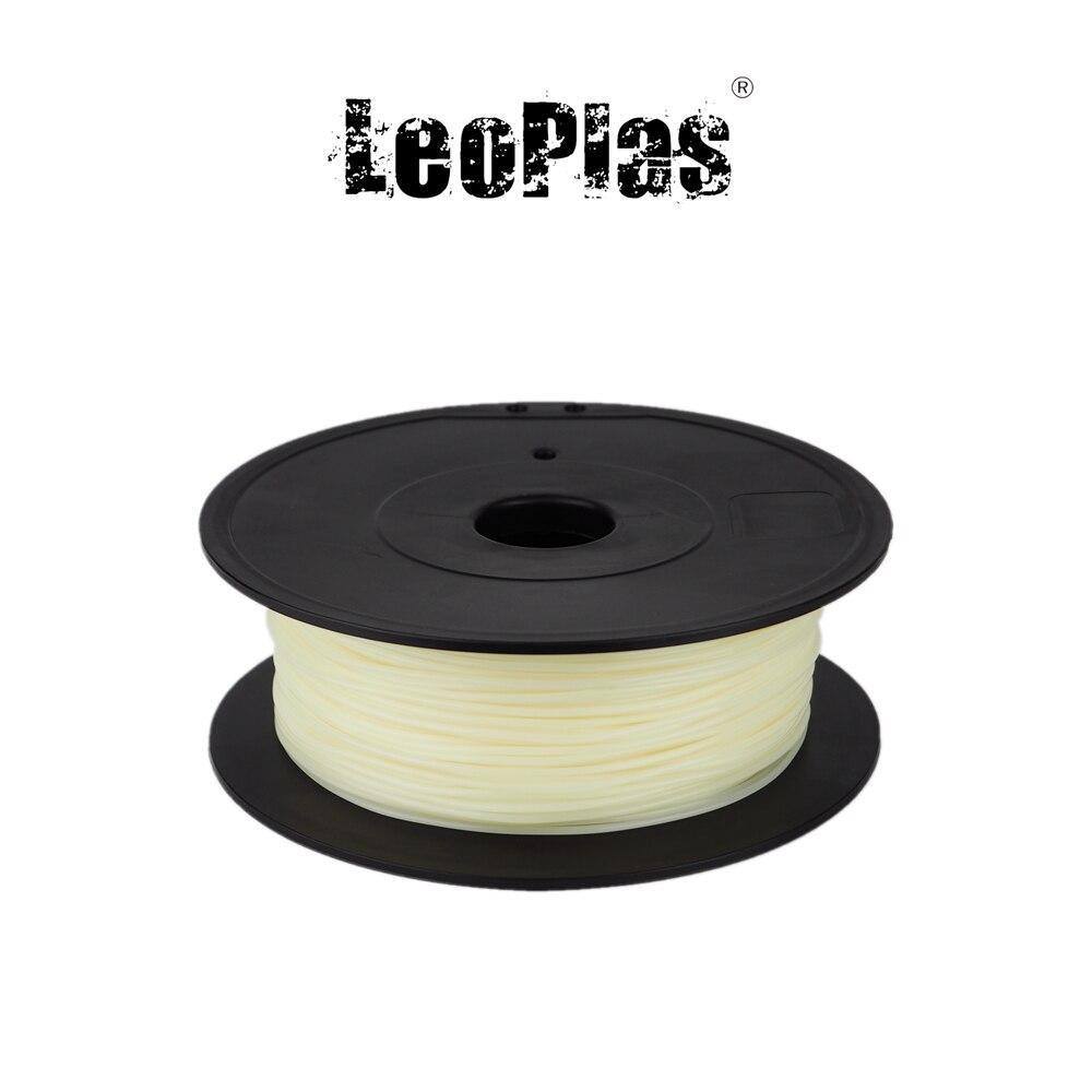 Estados Unidos España China No depósito fiscal 1,75mm PVA filamento 500g 1.1lb FDM 3D impresora Soluble en agua de plástico material de apoyo