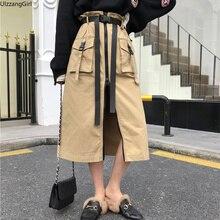 39ad5f315 Compra buckle skirt y disfruta del envío gratuito en AliExpress.com