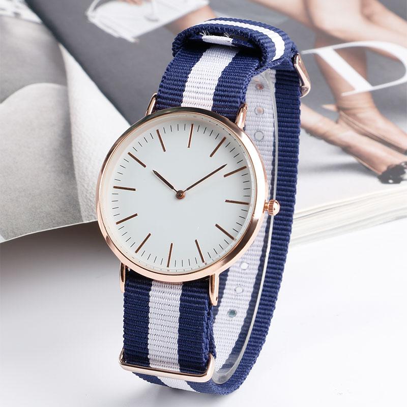 2016 Modern Fashion Wrist Watch With Nylon Fabric Band Strap Men Watch Analog Sport Quartz-watch Women Clock Gift Hot Popular цена 2017