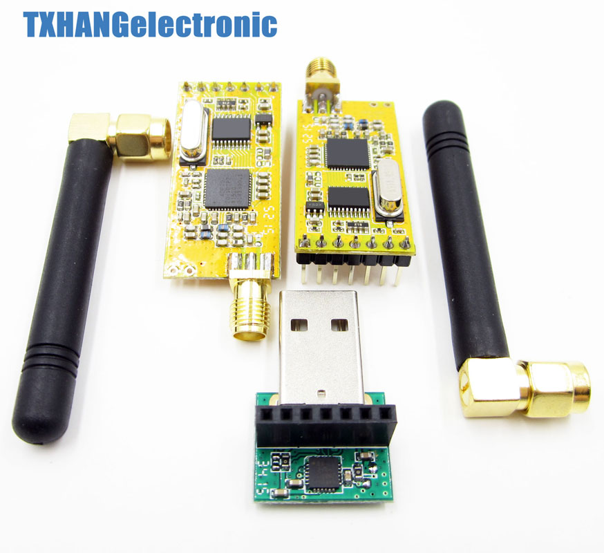 APC220 Wireless serial Data Modules With Antennas USB Converter