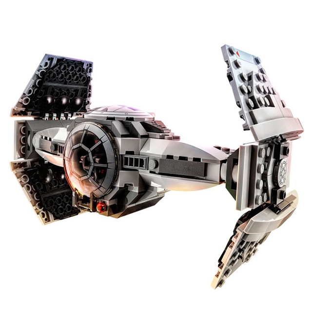 ZW 354pcs star Wars series The Force Awakens TIE Advanced Prototype minifigure fighter Building Blocks Toy Compatible With Lego
