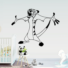 Funny animal Decal Removable Vinyl Mural Poster For Kids Room Decoration Sticker