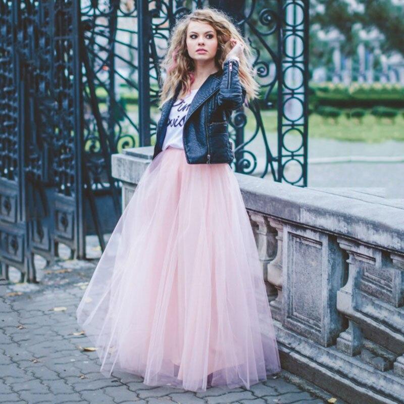 Длинные юбки на знаменитостях