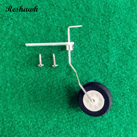 10 Pcs Lot 25 40class Steering Tail Wheel COMBO Fiber Glass Bracket Wheel Steering System Aircraft