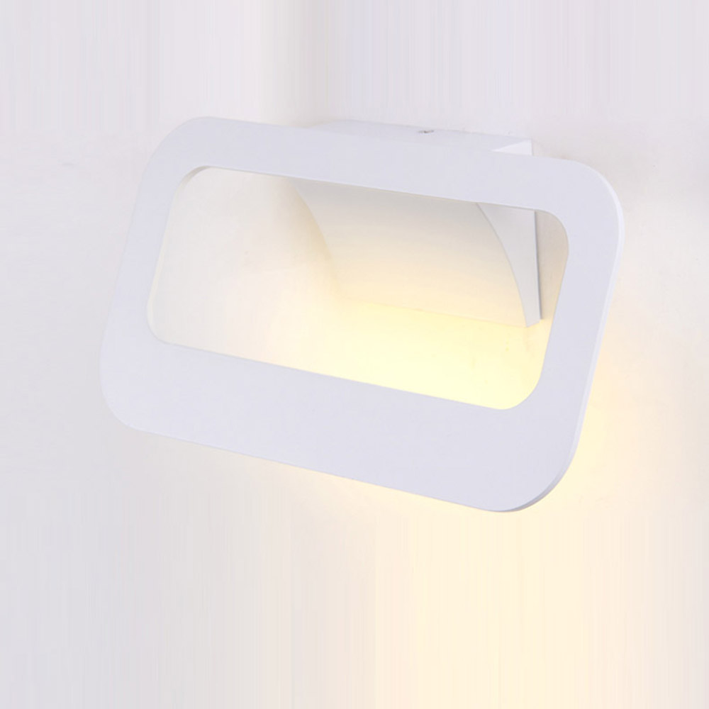 Modern Italy 6W LED Corridor Wall Lights Painted Metal Panel Bedroom Bedsides Wall Lamps Balcony Hallway Stair case wall lamps цена