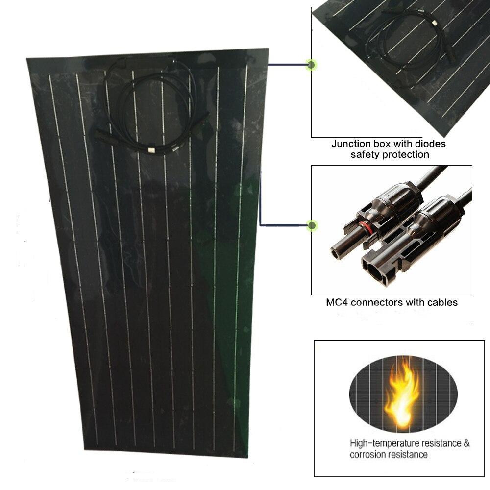 100W 18 Volt Solar Panel China Cheap 100 Watt Solar Panels Cell/Module/System Charger/Battery 12V system Kit kits