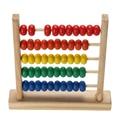 Pequeño Ábaco Matemáticas Aprendizaje Temprano de Juguetes Educativos Para Niños de Madera De Los Niños Números El Conteo Cálculo Juguete Cuentas