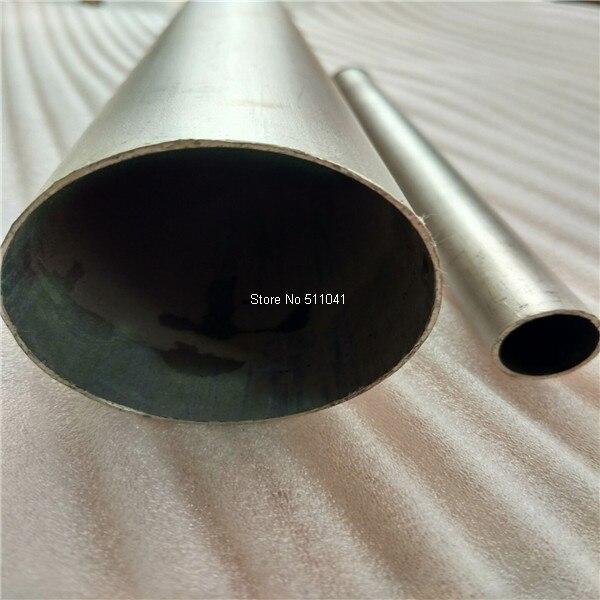45mm * 0.5mm * longueur 200mm tube en titane, 5 pièces en gros