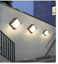 12W Outdoor LED Wall lamps Waterproof Aluminum Porch Light 10pcs/lot