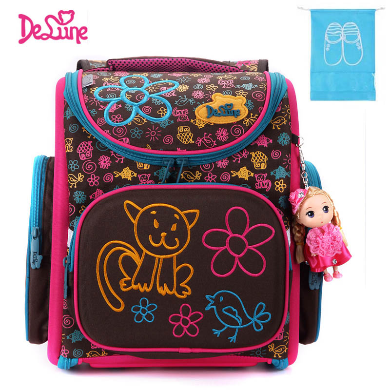 School Bag Kids Children Backpack High Quality 3D Print School Bags for Boys Girls Child Bags Primary School Backpacks elegant black feather backpack for teenage girls boys children school bags retro women ladies shoulder bag kids school backpacks