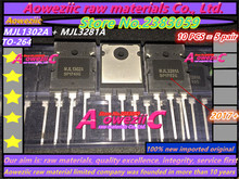 Aoweziic 2017+ 100% new imported original MJL3281A   MJL1302A  MJL3281A  TO 264  High power amplifier transistors (1 pair )