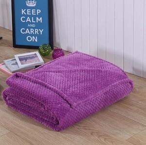 Image 5 - CAMMITEVER Korallen Fleece Decke Ananas Flanell Decken Werfen auf Bett Sofa Bettdecken Plaids Twin Königin