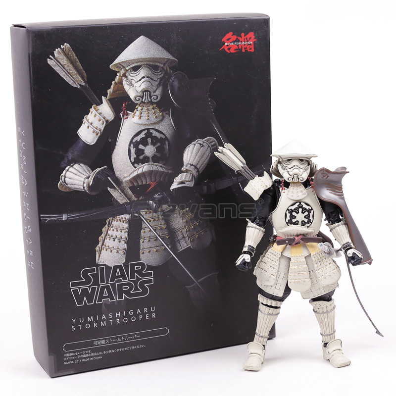 Tamashii Limited Meisho Movie Realization Star Wars Yumi Ashigaru Stormtrooper Action Figure Collectible Model Toy star wars action figure imperial stormtrooper sic samurai taisho pvc 170mm realization anime star wars model toys tobyfancy