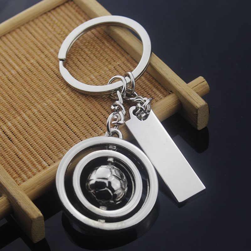 RE Criativo 3D Futebol Calçados Esportivos Homens Trinket chaveiro De Metal Keychain Chave Do Carro cadeia Mulheres Saco Encantos chave acessórios A0840