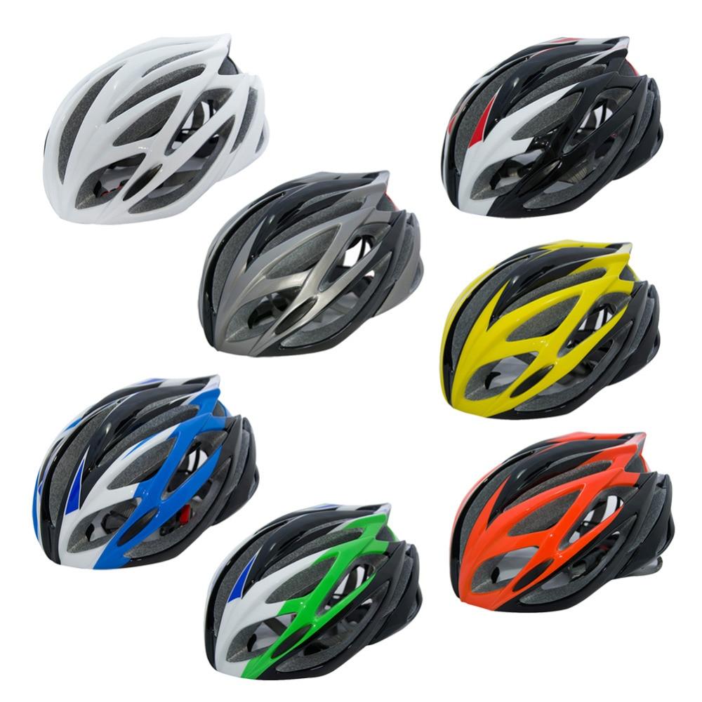 New Women Men Cycling Helmet Bicycle Helmet MTB Bike Mountain Road Bicycle Casco Ciclismo Capacete Adjustable Size 58-64CM