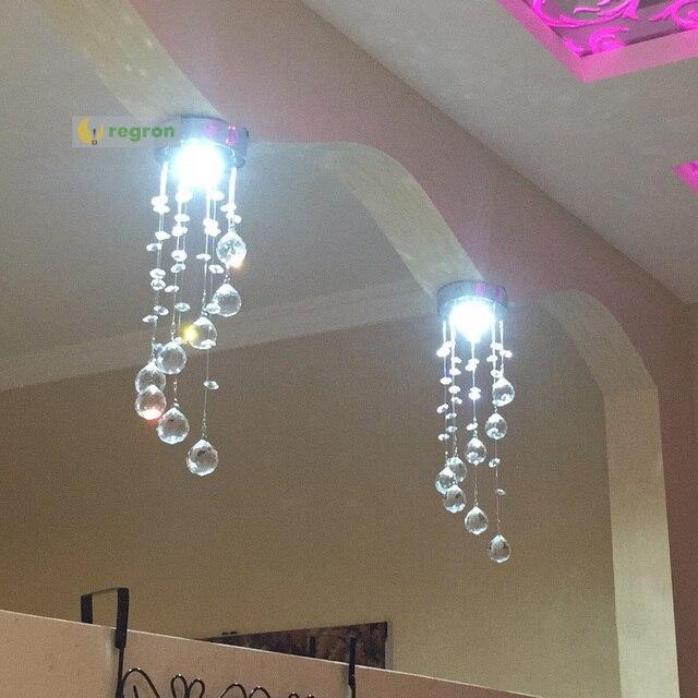 cristal Luces Led de pasillo Consultar pequeño precio TFcK13Jl