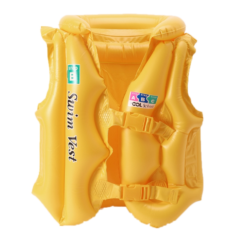 Kids Swimming Drifting Inflatable Pool Float Life Swimsuit Child live Vests
