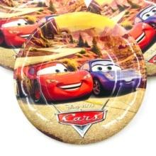 6pcs/set 7inch  DISNEY Lightning Mcqueen Cartoon Plate Children Party Supplies Kids Birthday Decoration Event And Favors
