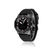 SPOVAN New GEMINI Double Display Watch With Compass/Waterproof/LED Backlight