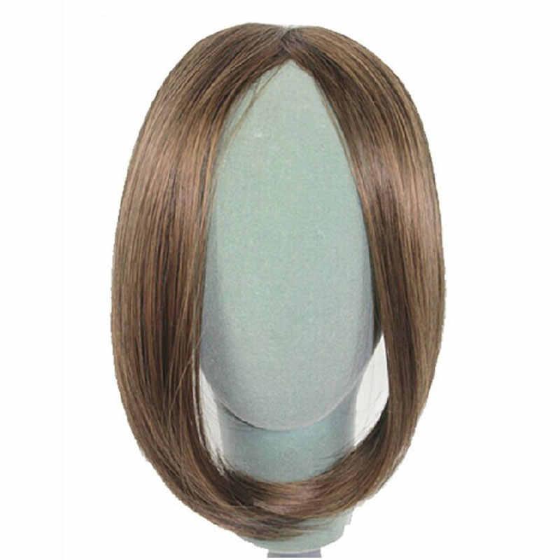 S-noilite длинные на заколке на накладные волосы с боковой бахромой наращивание волос настоящие натуральные синтетические челки волосы кусок
